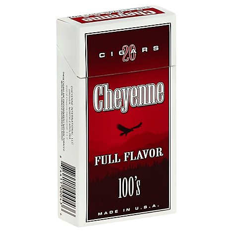 Cheyenne Full Flavor 100 Large Cigars - 20 Count