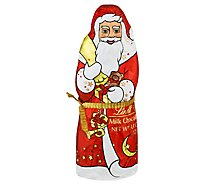 Lindt Milk Chocolate Santa - 4.4 Oz