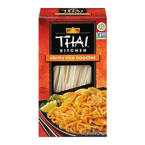 Thai Kitchen Rice Noodles Stir Fry - 14 Oz