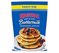Krusteaz Pancake Mix Resealable Family Size - 5 Lb