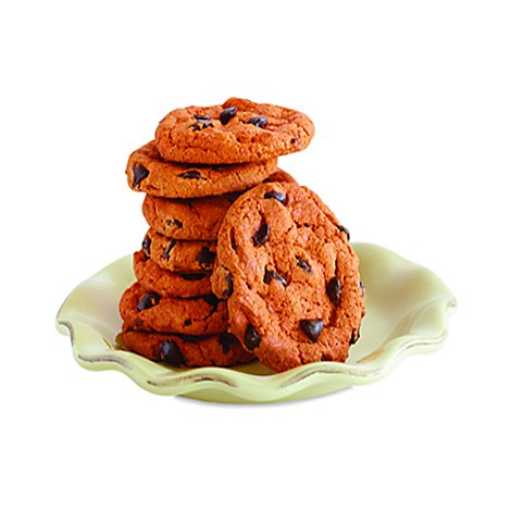Bakery Cookies Pumpkin Chocolate Chip 8 Count - Each