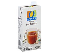 O Organics Organic Broth Beef Brick - 32 Oz