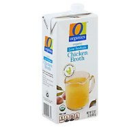 O Organics Organic Broth Chicken Low Sodium Brick - 32 Oz