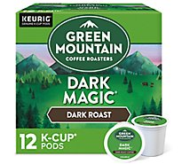 Green Mountain Coffee Roasters Coffee K Cup Pods Dark Roast Dark Magic - 12-0.4 Oz