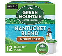 Green Mountain Coffee Coffee K-Cup Pods Medium Roast Nantucket Blend - 12-0.33 Oz