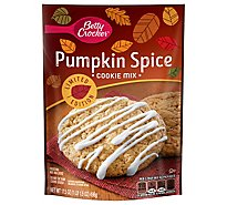 Betty Crocker Cookie Mix Pumpkin Spice - 17.5 Oz