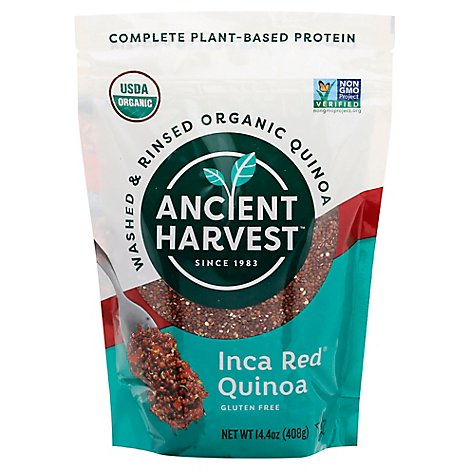 Ancient Harvest Quinoa Organic Inca Red Grains - 12 Oz