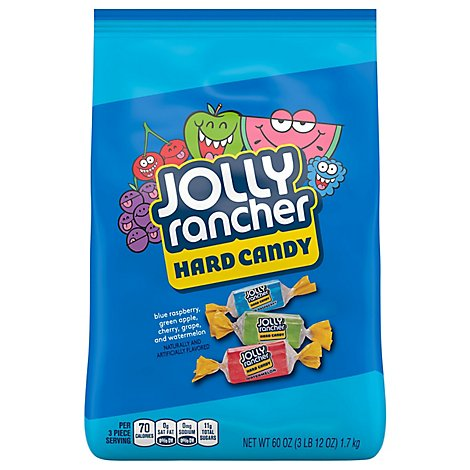 Jolly Rancher Hard Candy Original Flavors - 60 Oz