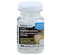 Signature Care Aspirin Pain Reliever Fever Reducer 325mg NSAID Tablet - 100 Count