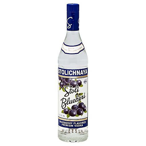 STOLICHNAYA Vodka Bluberi 75 Proof - 750 Ml