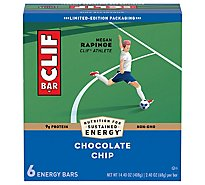 CLIF Energy Bar Chocolate Chip - 6-2.4 Oz