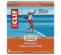 CLIF Energy Bar Crunchy Peanut Butter - 6-2.4 Oz