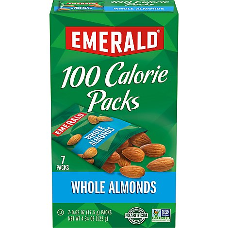Emerald 100 Calorie Packs Almonds Natural - 7-0.62 Oz
