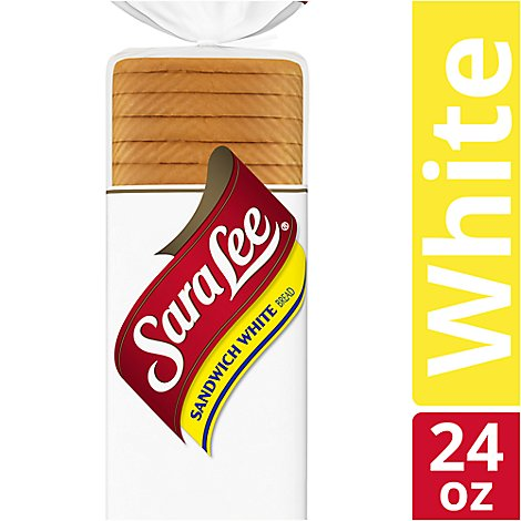 Sara Lee Bread Sandwich White - 24 Oz