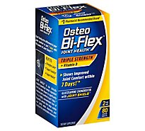Osteo Triple Strength With Vitamin D Advanced Bi Flex - 80 Count