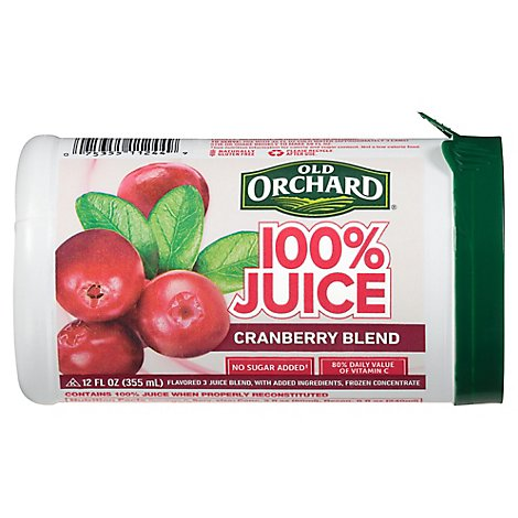Old Orchard Juice Frozen Concentrate Cranberry Blend - 12 Fl. Oz.