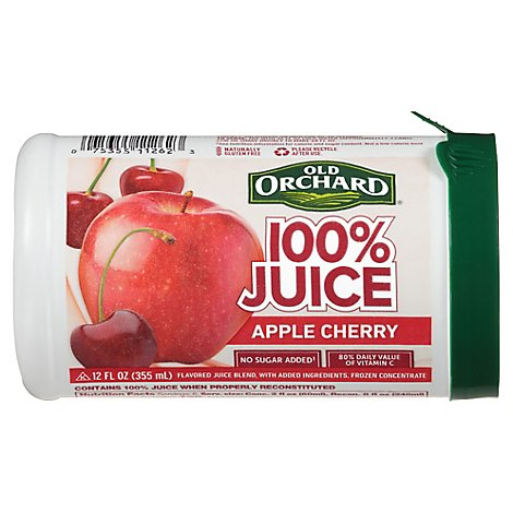 Old Orchard Juice Frozen Concentrate Apple Cherry - 12 Fl. Oz.