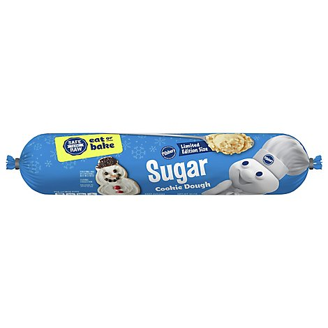 Pillsbury Cookies Refrigerated Sugar Cookies Value Size - 30 Oz