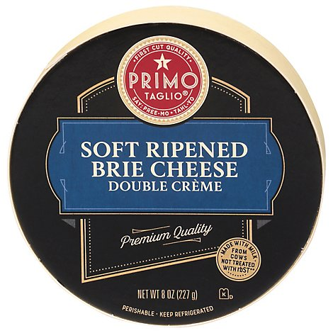 Primo Taglio Brie Cheese Wheel - 8 Oz.