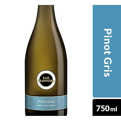 Kim Crawford Wine White Pinot Gris - 750 Ml