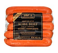 Snake River Farms Beef American Kobe Hot Dogs - 16 Oz