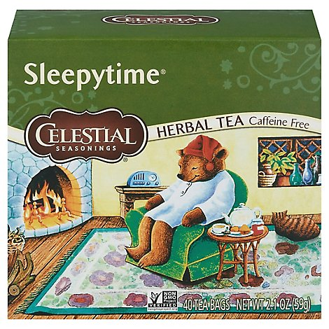 Celestial Seasonings Sleepytime Herbal Tea Caffeine Free - 40 Count