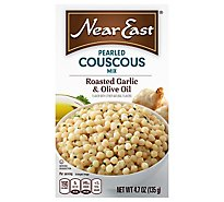 Near East Couscous Pearled Mix Roasted Garlic & Olive Oil Box - 4.7 Oz
