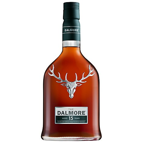 Dalmore Scotch Single Malt 15 Year Old 80 Proof - 750 Ml