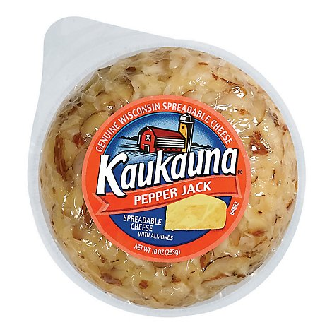 Kaukauna Pepper Jack Spreadable Cheese Ball - 10 Oz.