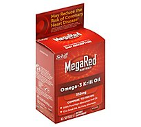 Schiff Mega Red Omega 3 Krill Oil - 60 Count