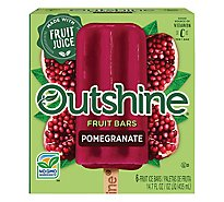 Outshine Fruit Ice Bars Pomegranate - 6-2.68 Fl. Oz.