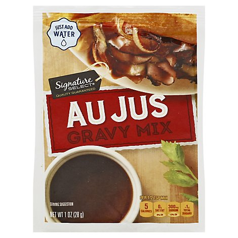 Signature SELECT Gravy Mix Au Jus - 1 Oz