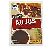 Signature Kitchens Gravy Mix Au Jus - 1 Oz