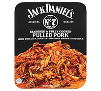 Jack Daniels Pulled Pork Seasoned and Cooked - 16 Oz