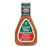 Kens Steak House Dressing Zesty Italian - 16 Fl. Oz.