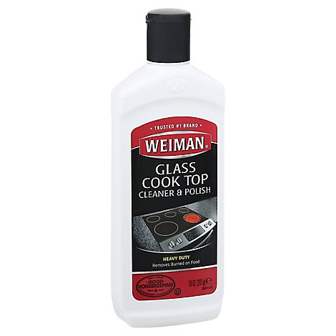 Weiman Cleaner & Polish Cook Top - 10 Oz