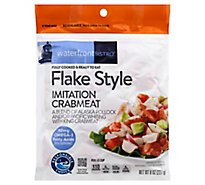 waterfront BISTRO Crabmeat Imitation Flake Style Fully Cooked - 8 Oz