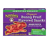 Annies Homegrown Fruit Snacks Organic Bunny Berry Patch - 5-0.8 Oz