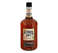 Kings Bay Rum Spiced 70 Proof - 1.75 Liter