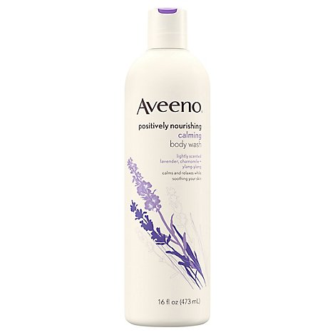 Aveeno Active Naturals Positively Nourishing Body Wash Calming - 16 Fl. Oz.