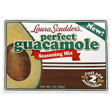 Laura Scudders Seasoning Mix Perfect Guacamole Wrapper - 1 Oz