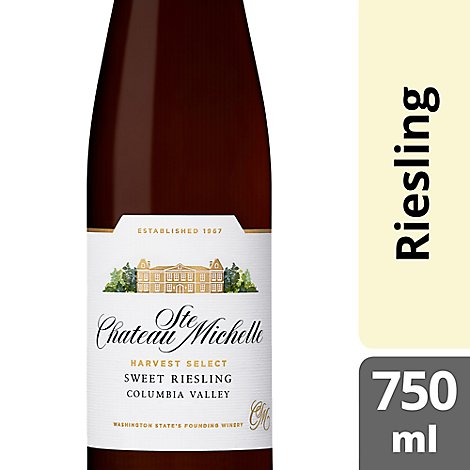 Chateau Ste. Michelle Harvest Select Wine Sweet Riesling Columbia Valley - 750 Ml