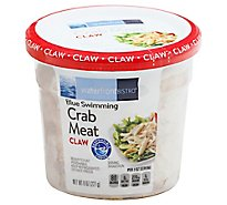 waterfront BISTRO Crab Meat Claw Wild Caught Ready To Eat - 8 Oz