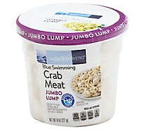 waterfront BISTRO Crab Meat Jumbo Lump Wild Caught Ready To Eat - 8 Oz