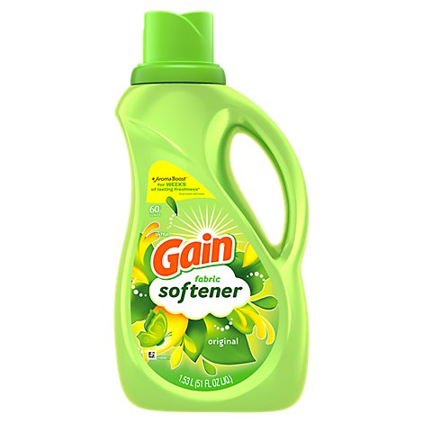 Gain Ultra Fabric Softener Liquid Original 60 Loads - 51 Fl. Oz.