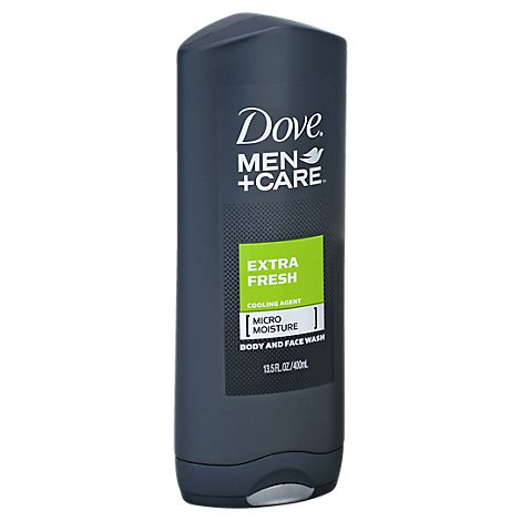 Dove Men+Care Body + Face Wash Extra Fresh - 13.5 Oz