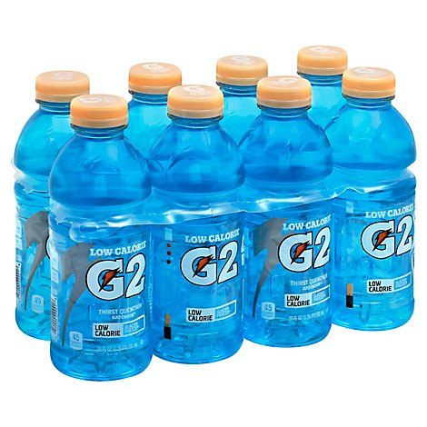 Gatorade G2 Thirst Quencher Perform 02 Low Calorie Glacier Freeze - 8-20 Fl. Oz.
