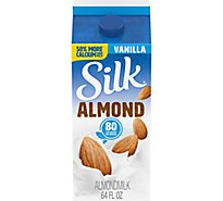 Silk Almondmilk Vanilla - Half Gallon