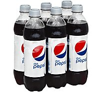 Pepsi Soda Diet - 6-16.9 Fl. Oz.