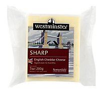 Somerdale Cheese Westminster Sharp Cheddar - 7 Oz